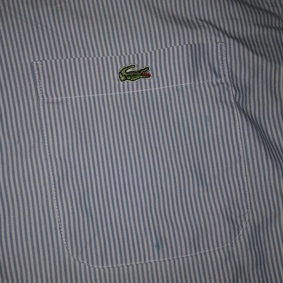 Lacoste Other - Lacoste men's button down short sleeve size XL